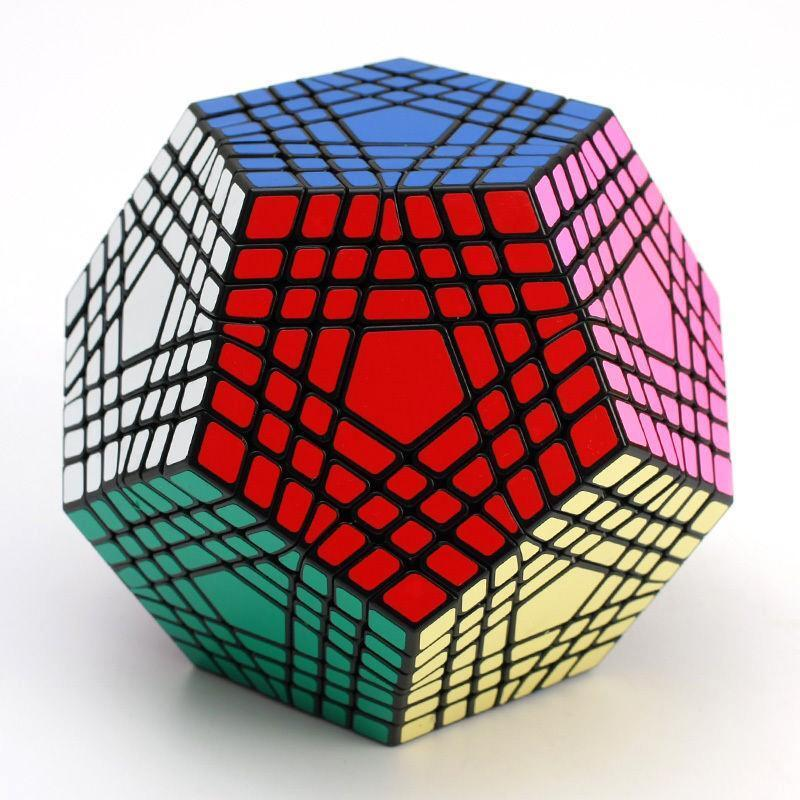 New ShengShou 7x7x7 Megaminx Teraminx Twist Puzzle Magic Cube Intellectual toys