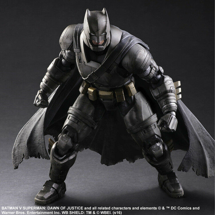 Play Arts KAI Batman v Superman Dawn of Justice Armored Batman Figure Model Toy