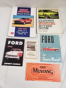 MUSTANG BUYERS GUIDE BOOK SHELBY FORD SESSLER ILLUSTRATED BUYER/'S