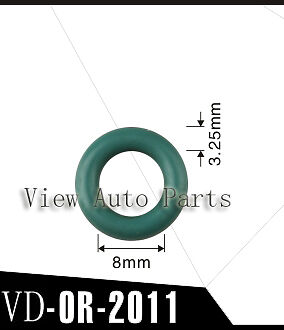 500pcs For Nissan Fuel Injector Viton Orings Size 8*3.25mm  VD-OR-2011