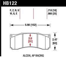 Hawk Performance HB122N.710 Front High Performance Brake Pads