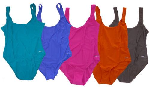 Damen Badeanzug verschiedene Farben Gr 38 40 42 44 46 NEU