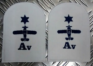 Genuine-Pair-of-Royal-Navy-RN-Air-Engineering-Avionics-Patches-Badges-NEW