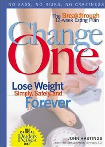Book-Health-amp-Fitness-Change-One-The-Diet-amp-Fitness-Plan-Lose-Weight