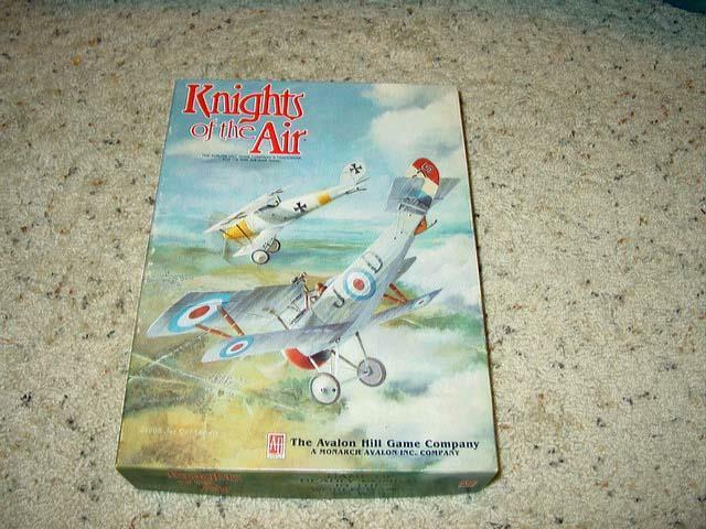 AH Avalon Hill 1985 - KNIGHTS of the AIR game - World War I Air Combat (UNP)