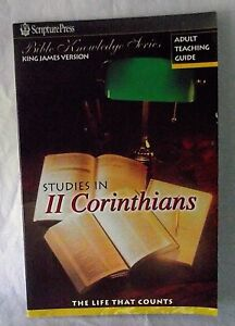 Details about 2 II Corinthians Life that Counts Adult Teaching Guide  Lessons Bible Small Group
