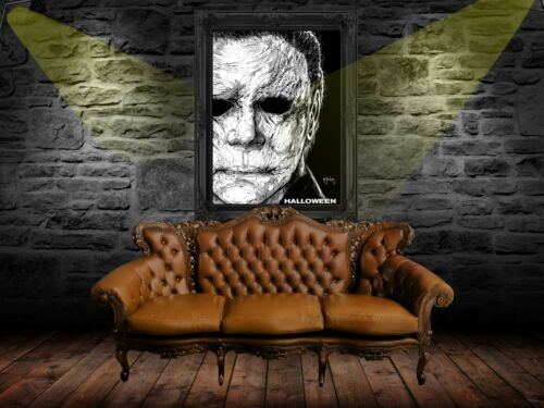 Halloween 2018 Poster Print A0-A1-A2-A3-A4-A5-A6-MAXI C252