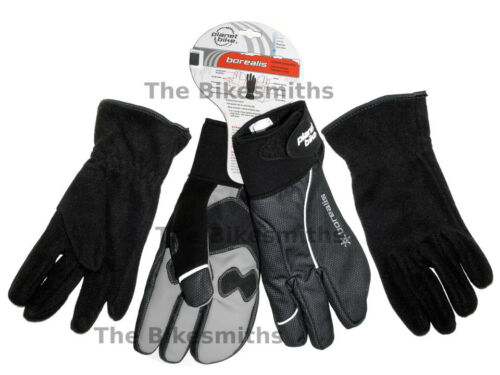 PB Borealis MEDIUM Winter Cold Weather Cycling Gloves Water Resistant