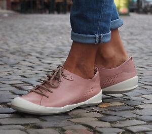Details für Outlet-Store 100% Qualitätsgarantie Details zu TBS Schuhe VESPPER rose pale Echtleder Damen Halbschuhe NEU  Schnürer Sneakers