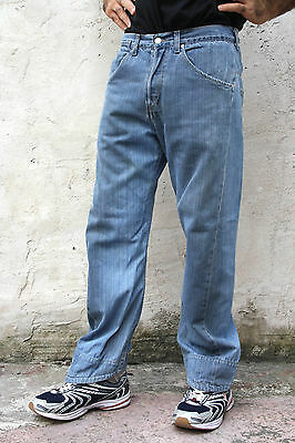 Levis 001 Vintage 80s Twisted Mens Jeans Denim Faded Red Tab