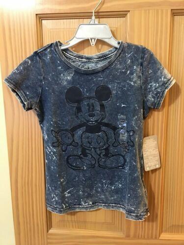 Disney Store Mickey Tee Shirt Girls 5//6,7//8,10//12 New