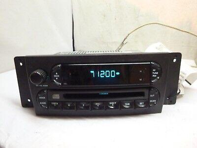 04 05 06 07 08 Chrysler Pacifica AM FM RADIO CD P05082764AE ... Chrysler Radio Wiring Harness P Am on