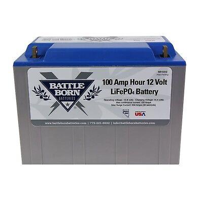 100 Ah Lifepo4 12 Volt Deep Cycle Battery 685642942873 Ebay