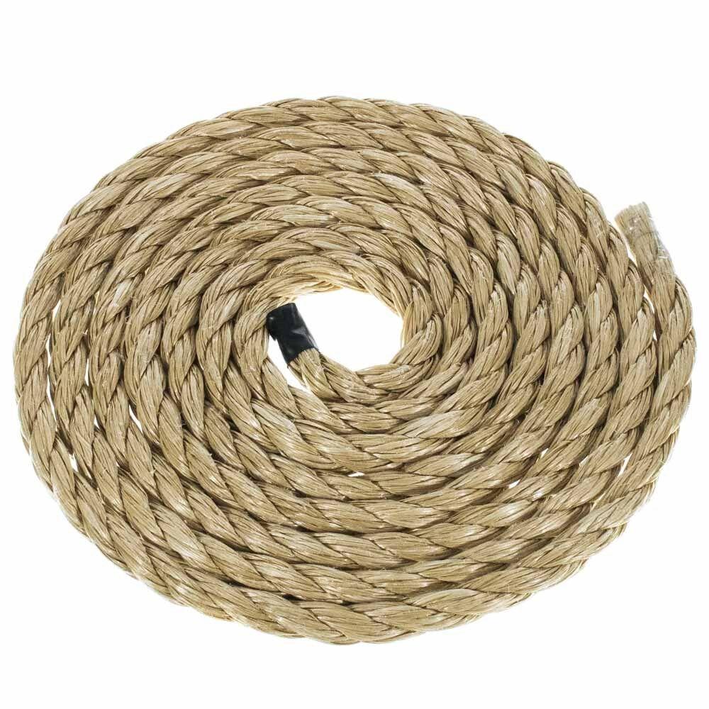 GOLBERG Twisted ProManila   UnManila   Tan Polypro Rope Nautical Marine Cord