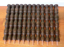 12 Furniture Bed Spindles Posts Craft Parts Supply Plastic Legs Salvage Pieces