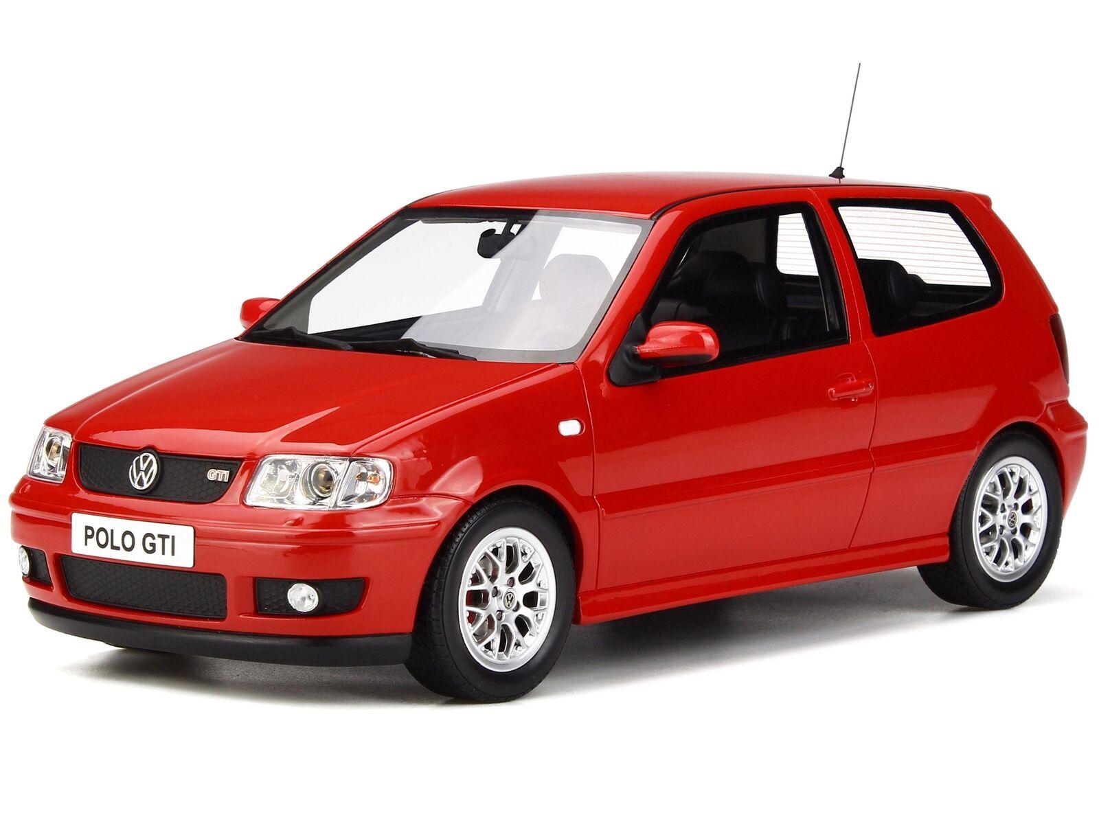 al precio mas bajo VW Polo GTi flashrojo 1500 1500 1500 coche en miniatura OT270 Otto 1 18  autentico en linea