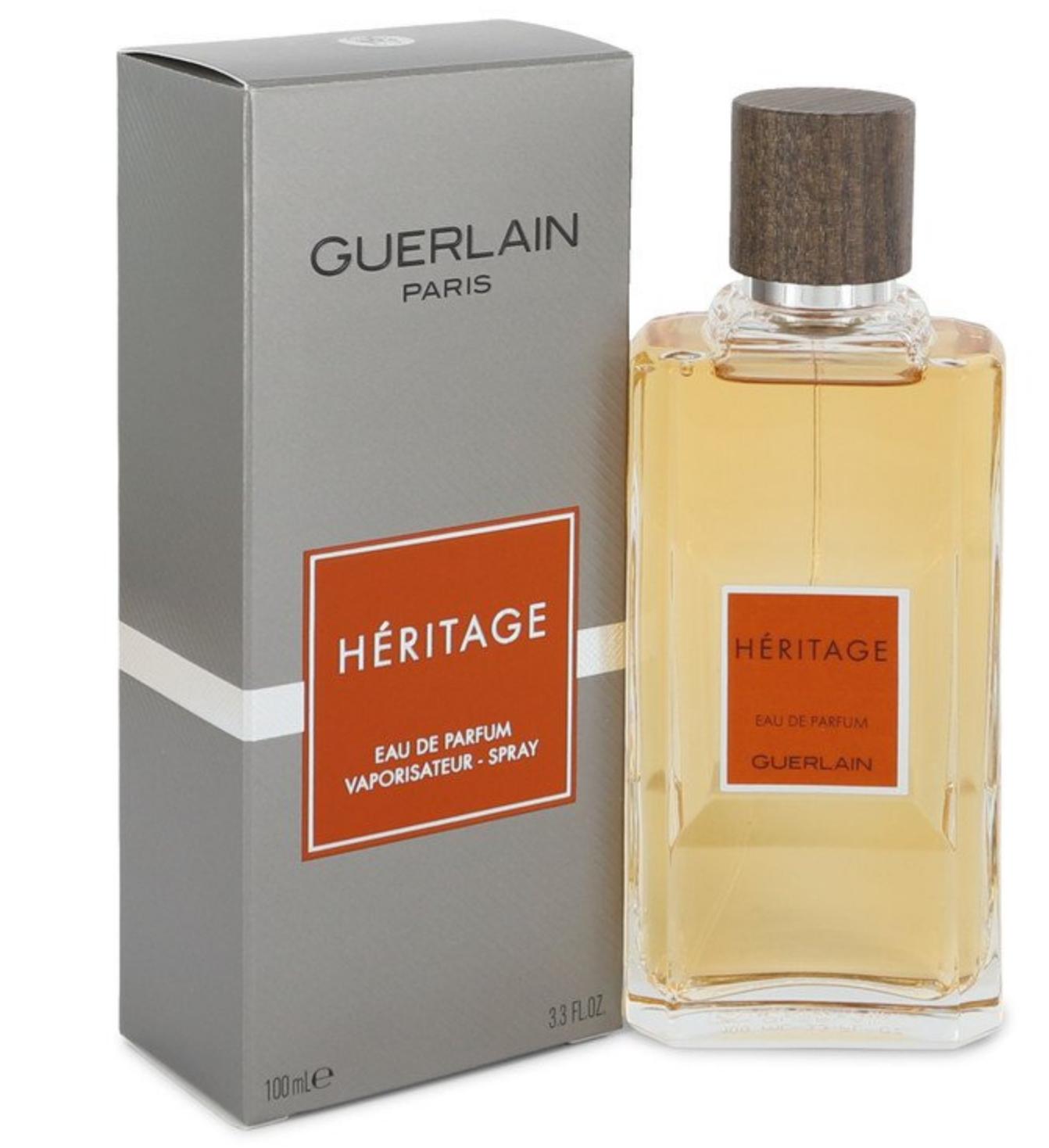 Edp Mens Guerlain Cologne De Parfum 100ml Eau Spray Heritage Ebe2IYWDH9