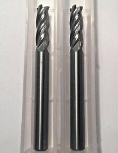 "x 5//8/"" Cut x 2/"" OAL 4 Flute Square ALTIN Carbide End Mill USA Made 3//16/"" Dia"