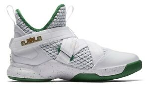 timeless design d68d6 c9708 Details about Nike AA1352-100 Lebron Soldier XII GS IRISH White Size 3.5 UK  36 EU 4Y US