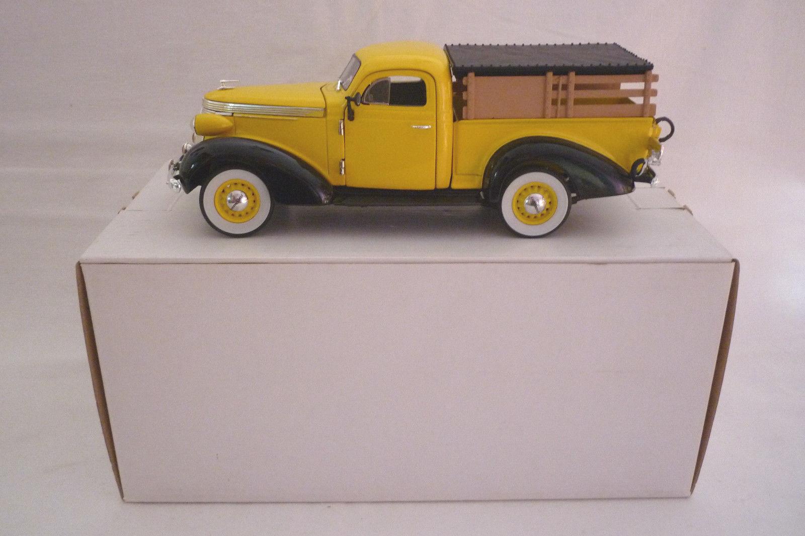 Danbury Menta Metal - Modelo - 1937 Studebeaker Pick-Up 1 24 - (3.DIV-57)