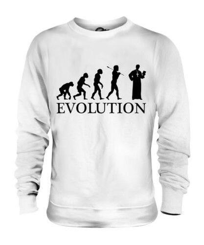 Vikar Evolution des  Herrenchen Unisex Pullover Herren Damen Geschenk Priester