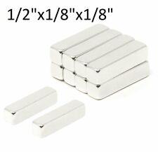 New Listinglot 25 50 100 12 X 18 X 18 Barsblocks Neodymium Rare Earth Magnet N48