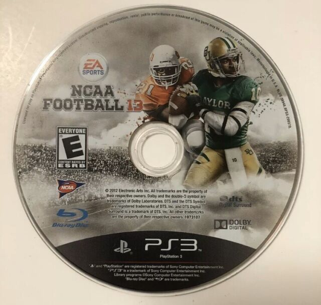 PS3 NCAA Football 13 (Sony PlayStation 3, 2012) PS3 Game ...Ps3 Games List 2012
