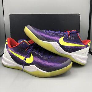online store caa32 e0248 Image is loading Nike-Zoom-Kobe-8-NikeiD-Size-10-Purple-