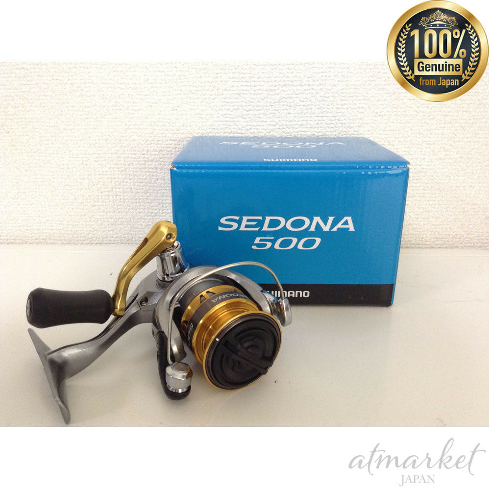 Nuovo Shimano Mulinello Spinning 18 Sedona 500 da Pesca Originale da Japan