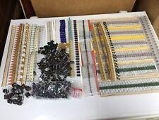 Electronic Component Lot Resistors Capacitors Diodes More 1500 Pieces