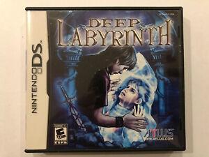 Deep-Labyrinth-Nintendo-DS-Complete-w-Case-amp-Manual-Authentic