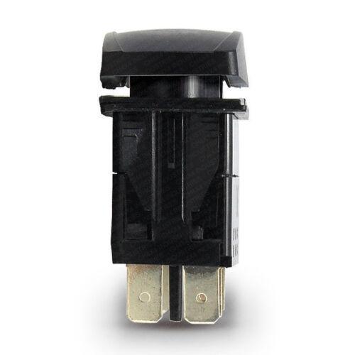 Blue LED CH4x4 Rocker Switch Power Inverter Symbol