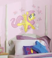 Giant Fluttershy Wall Decals My Little Pony Room Stickers Girls Horse Decor