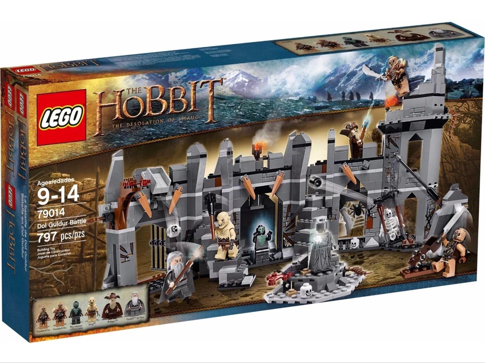 LEGO The Hobbit 79014 Dol Guldur battle New Sealed Retirot