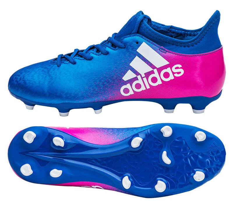 Adidas X 16.3 FG-BB5641 Botines De Fútbol Zapatos botas