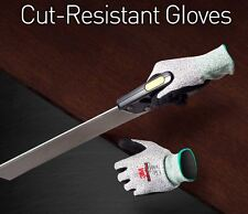 3M Cut Resistant Gloves Stainless Steel Wire Kevlar Butcher Safety Work Gloves