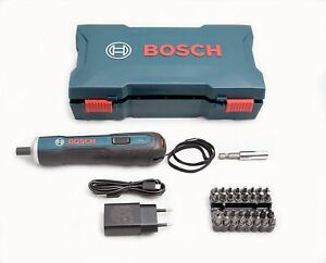 Bosch Go 3,6V Smart Akkuschrauber Set USB Rechargeable Cordless Screwdriver