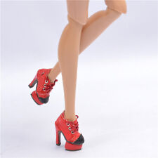 """Red Shoes for 12"""" Fashion Royalty Agnes  Poppy Parker DG Momoko doll adele"""