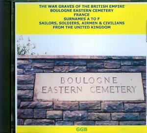 WAR-GRAVES-OF-BOULOGNE-EASTERN-CEMETERY-A-F-CD-ROM