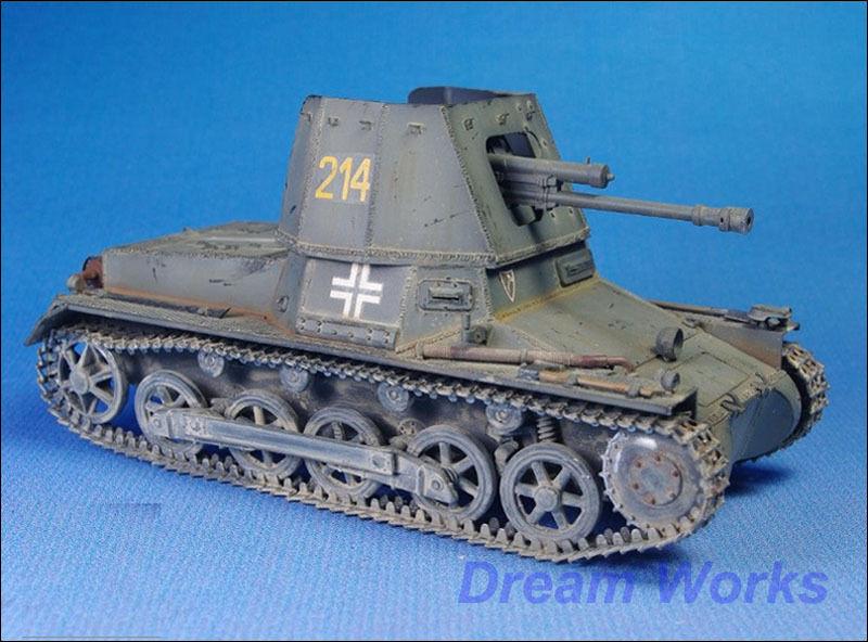 Pro Built By AwardWinner 1 35 ZVEDA Panzerjager I +PE