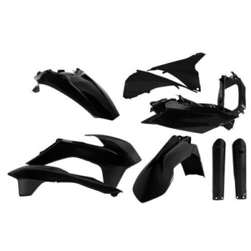 Acerbis fullkit Plastik plástico frase plastikkit KTM EXC 250 300 350 14-15 negro