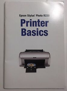 Details about genuine (epson stylus photo r220) printer basics manual  owners booklet