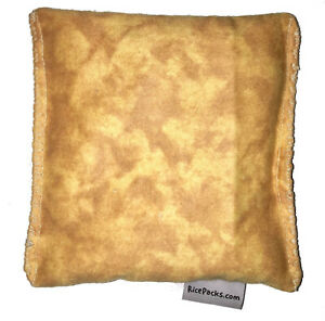 Brown Tie Dye Pack Hot Cold You Pick A Scent Microwave Heating Pad Reusable
