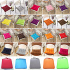 Colourful Seat Pads Dining Room Garden Kitchen Office Chair Cushions With Tie On