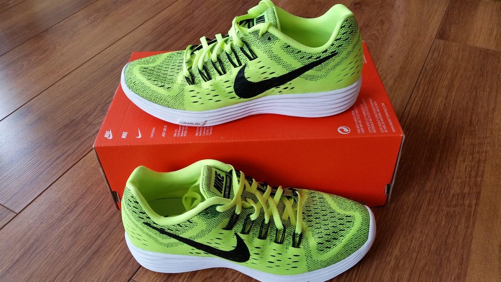 Da Uomo Nike Lunartempo Volt Nero Running Scarpe da ginnastica 705461 700