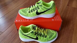 494bdac865e07 Image is loading Mens-Nike-Lunartempo-Volt-Black-Running-Trainers-705461-