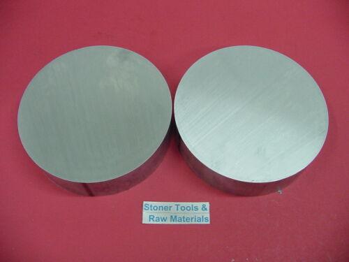 2 Pieces 6 ALUMINUM 6061 ROUND ROD 1/2 LONG T6 6.00 Diameter Lathe Bar Stock