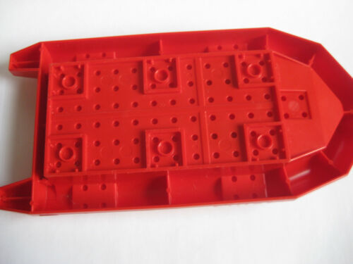 City Town Rescue Rubber Raft 62812 Lego Large RED RAFT for Minifigures