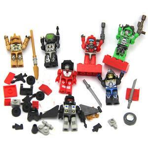 Lot-7Pcs-Transformers-KRE-O-KREON-Robots-Building-Mini-Figure-Kids-Toy-Gift