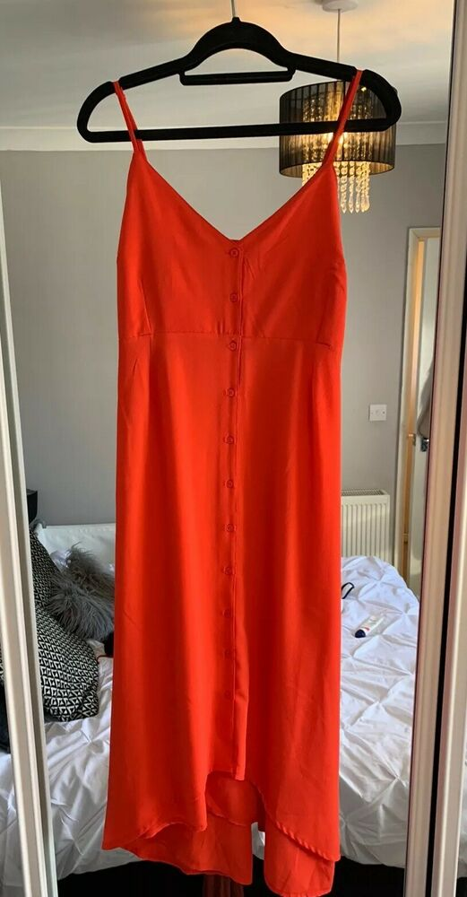 2 X Bnwt Maternité Robe. Taille 12. Orange. Burnt Orange. Corail. Vacances Été